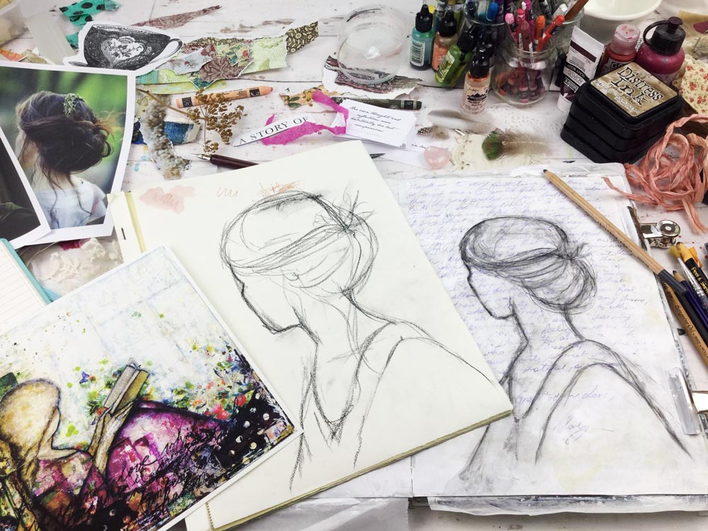 """""""Dear Jane"""" Art Journaling with Jane Austen 