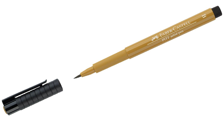 Pitt Artist pen - Green Gold.jpg