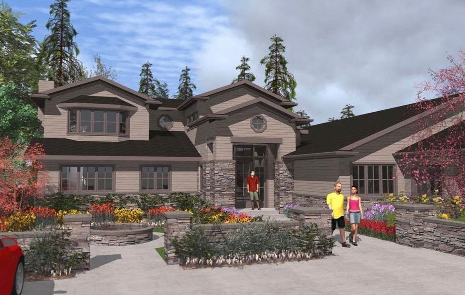 Rendering #2 - 12 Olympic Drive NW, Seattle