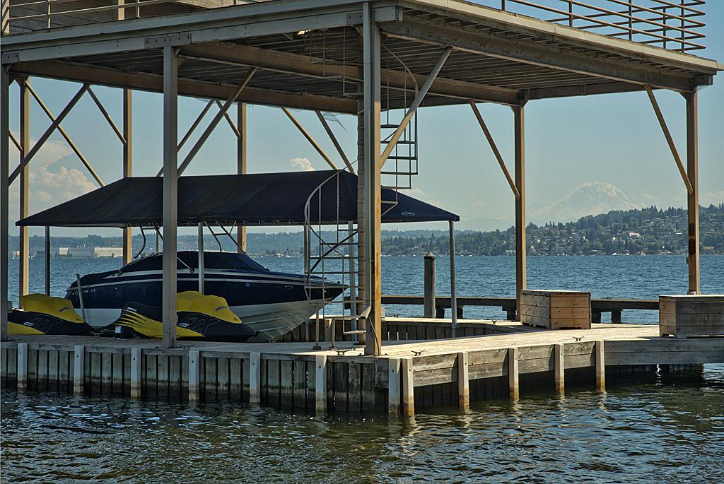 Boat house and Mnt Rainier.jpg
