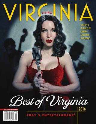 Virginia Living Magazine Best of 2016 - First Place: Best Bed and Breakfast