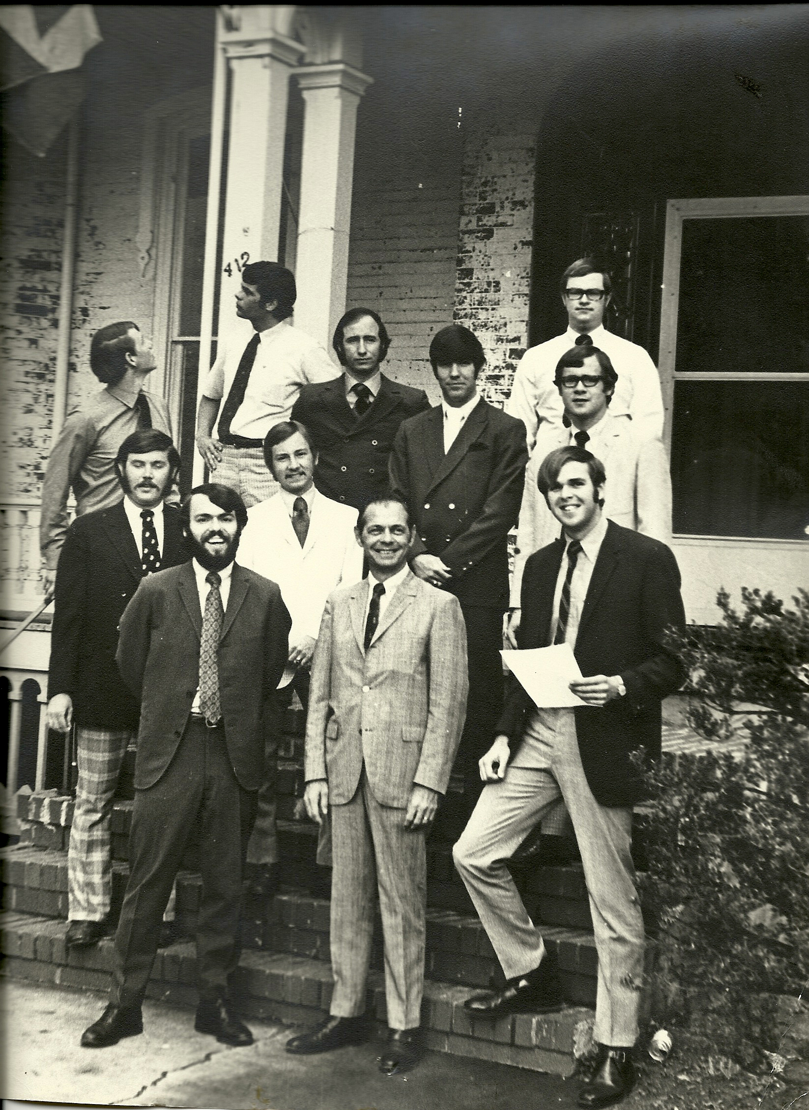 1970 - Bridgewater Mayor meets with TKE.jpg
