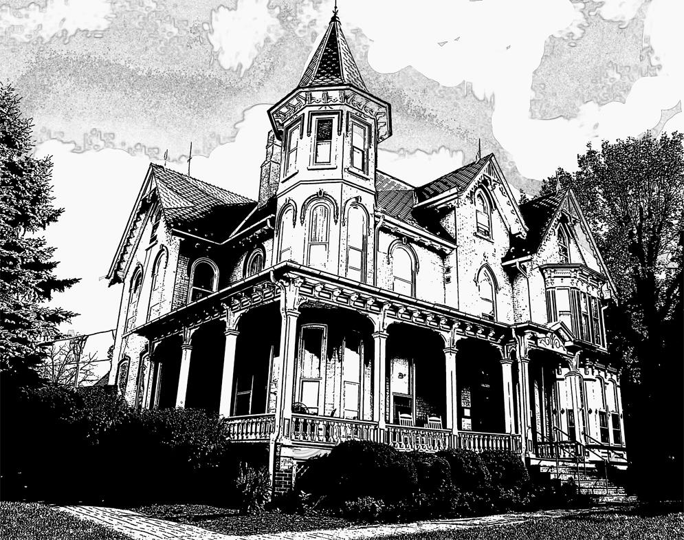 Digital Editing of the Joshua Wilton House by Mike Reisenberg