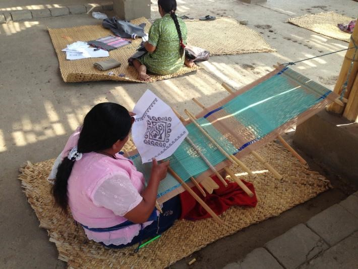 Lambayeque: Artisans Use Ancient Techniques in their Textiles - November 2014 (Spanish )