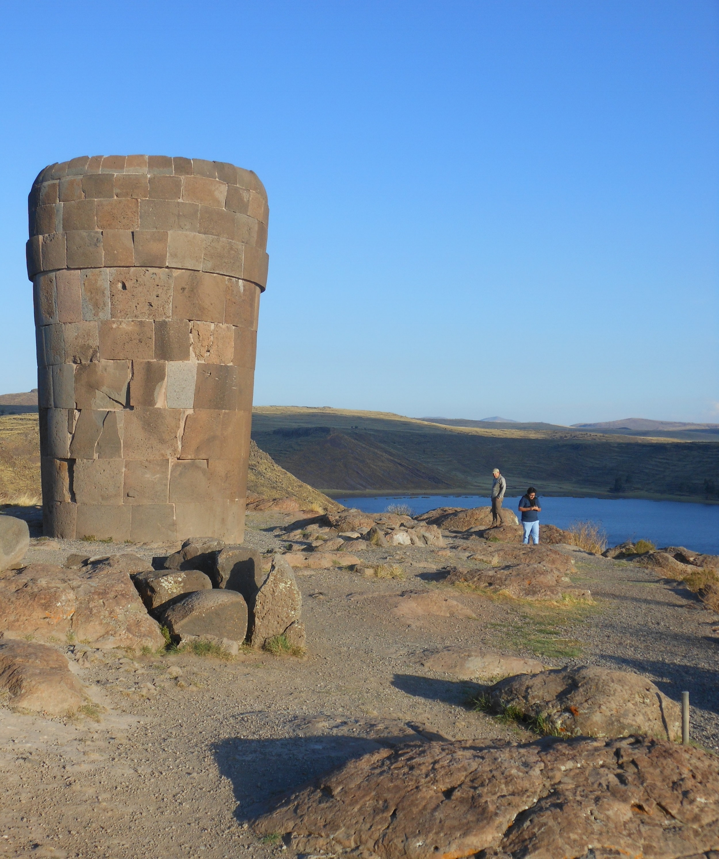 The Site   In the Andes near Lake Titicaca, Sillustani is an impressive complex of 'chullpa' tombs constructed by the Kolla culture (1200-1450 AD) which was conquered by the Incas in the 15th Century. The chullpas were the resting places of noble families, giving us a key insight into power and family life in this period. Sillustani is the the best preserved and most important collection of these tombs in Peru.
