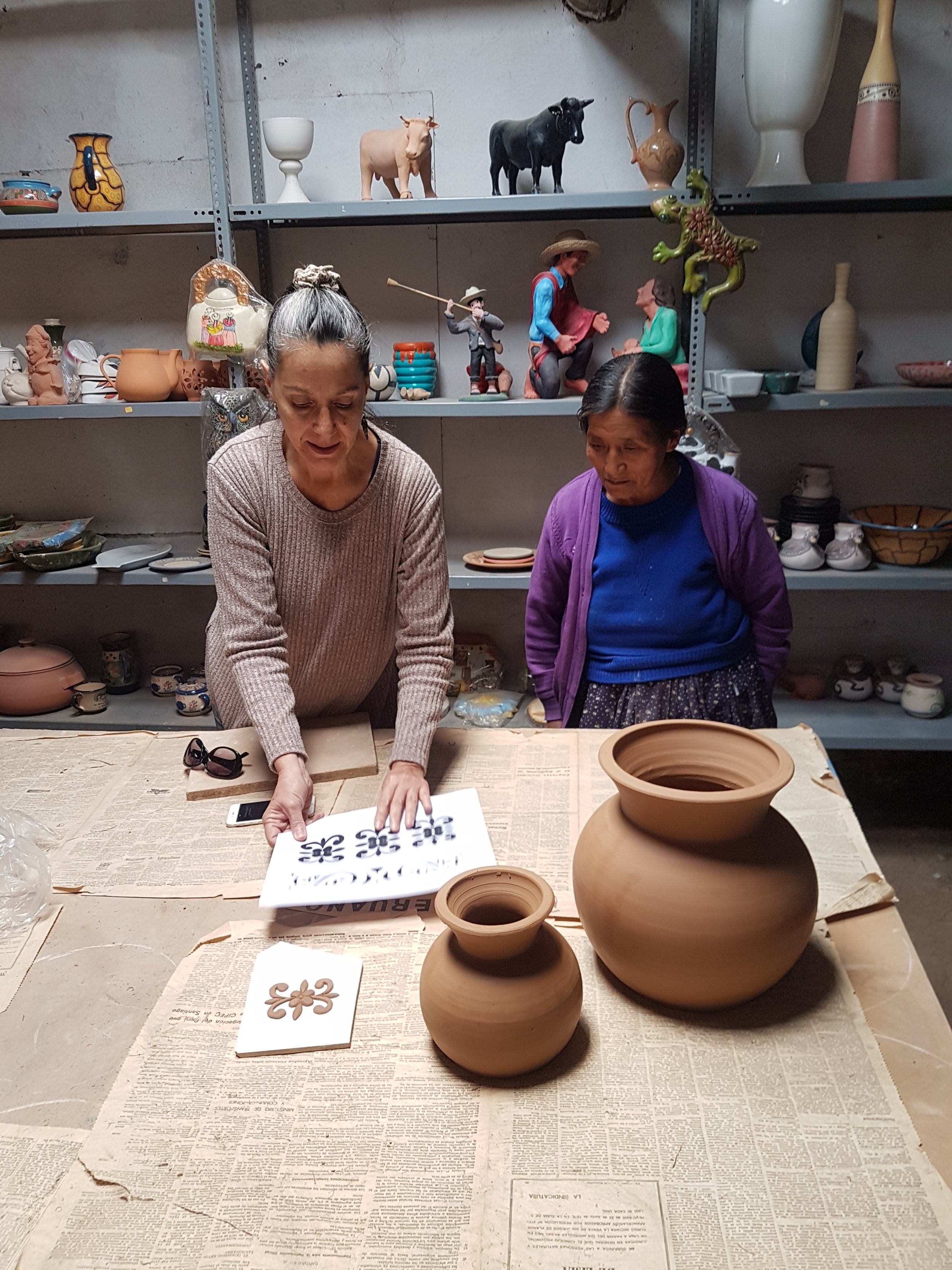 The Project   SPI is working with local stone and ceramic artisans to create compelling products which utilize local culture. This not only gives artisans extra income and a connection to their local heritage, but offers visitors the chance to purchase local souvenirs based on the heritage they are visiting. SPI designers have produced a collection of products in stone and ceramic which draw motifs from the architecture of the city.