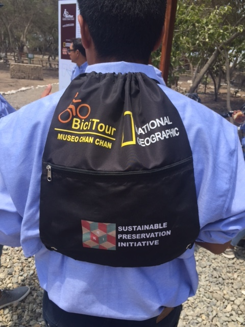 The Project   In collaboration with National Geographic, SPI is expanding its successful  BiciTour  program to Chan Chan. Young people from local communities will conduct visitors around the site on bicycles. This allows tourists a much better experience of the site, and gives young people much needed employment. Our participants are trained in local archaeology, bike maintenance and business skills!