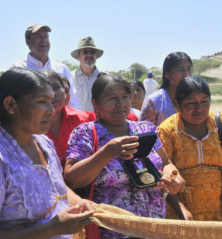 Around the site of Chotuna-Chornancap is a vibrant community, but one in need. Many of the community members have no electricity, sewer system or clean water. Learn what SPI is doing to help  here .