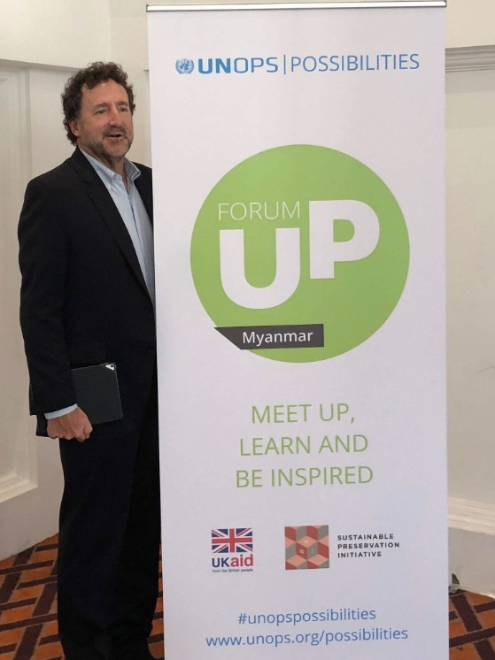 Our ED, Larry Coben, had the honor and privilege to be keynote speaker and address over 100 Myanmar entrepreneurs, the vast majority women, at the recent UP Forum in Yangon to kick off this collaboration.