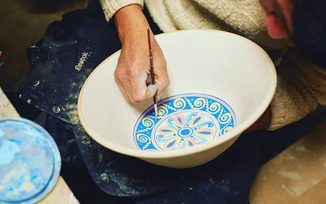 Some of the detailed work done by SPI supported #artisans in Cajamarca. Your donations goes towards supporting #talented local artisans and ensuring these techniques are preserved for future generations! 🎨  http://www.sustainablepreservation.org/take-action