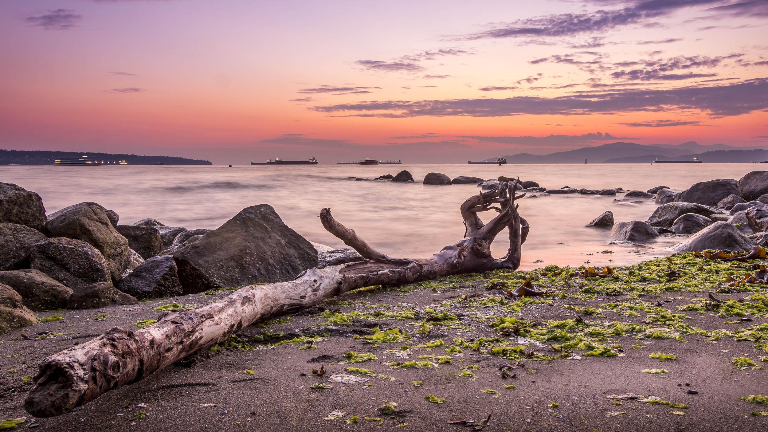 Second Beach, Vancouver - Canada