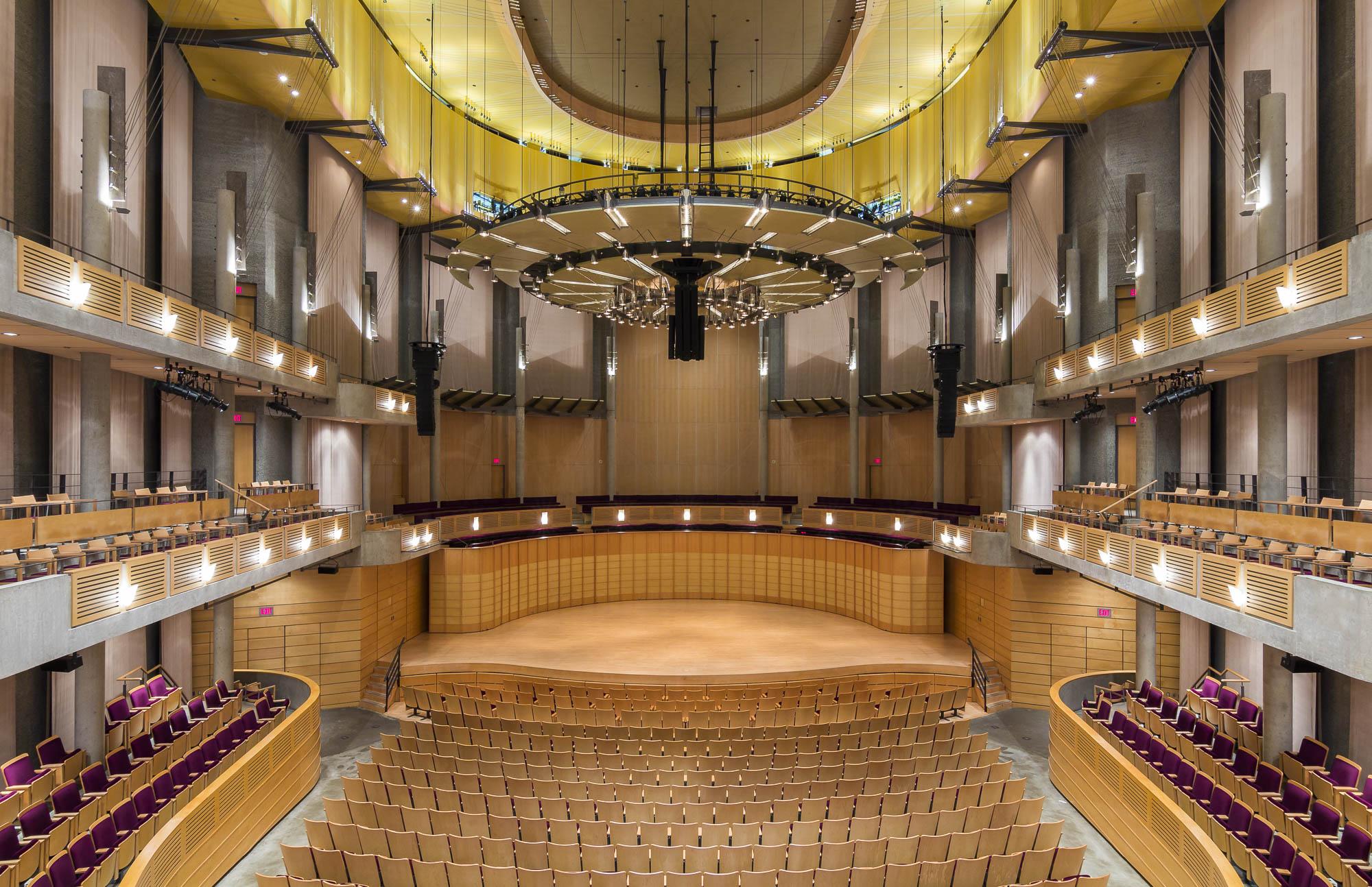 Chan Sun Concert Hall - Vancouver, Canada