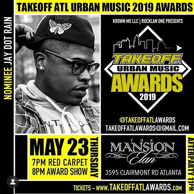 nominated for two awards thursday. first of many award shows. let's get it @takeoffatlawards 🏆