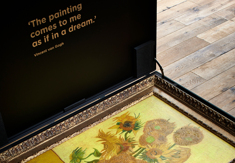 Van Gogh 'Relievo Collection' (licensed, official 3d-printed replica). Image credit:  Van Gogh Museum store .