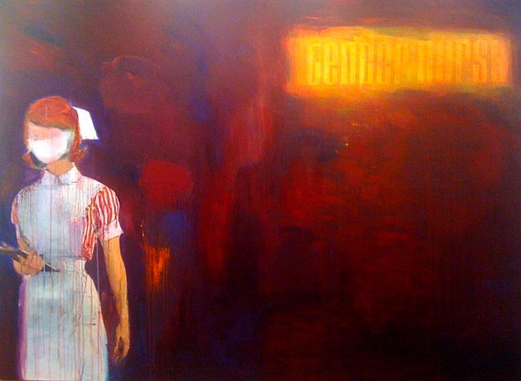 Richard Prince, Tender Nurse (2002). Image credit:  Mark Borghi Fine Art .