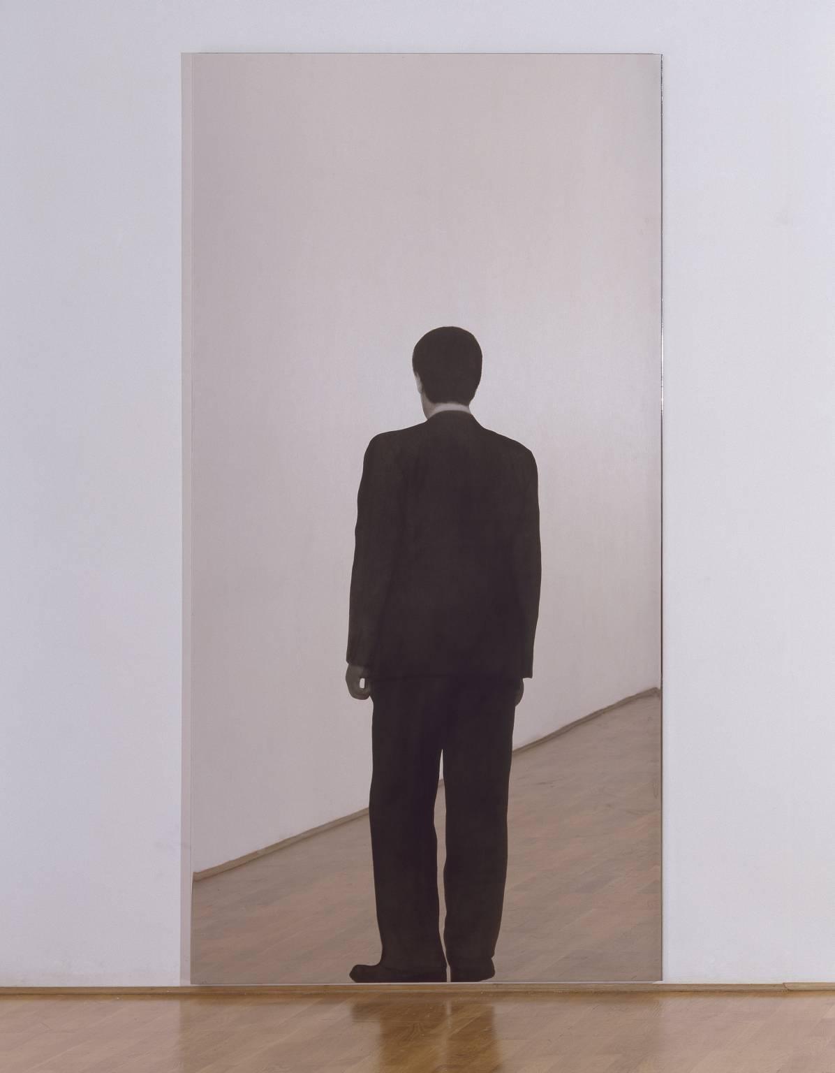 "Michelangelo Pistoletto, ""Standing Man,"" 1962, 1982. Image credit:  Tate ."