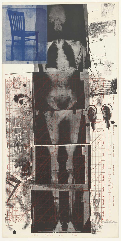 "Robert Rauschenberg, ""Booster,"" 1967. Image credit:  MoMA ."
