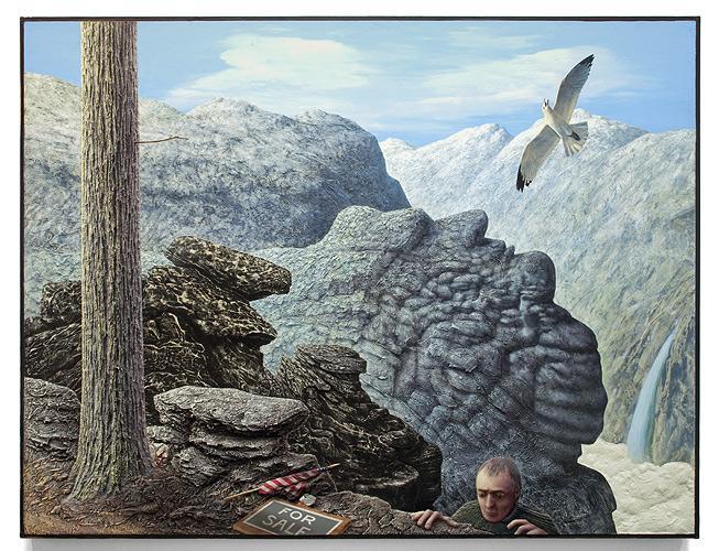 Llyn Foulkes,  Lost Horizon , 1991. Image credit:  Andrea Rosen Gallery .