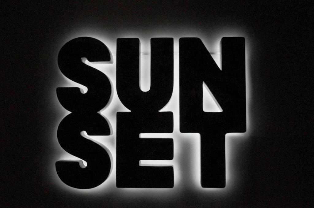 Doug Aitken, Sunset (black) (2013). Image credit: Flickr.