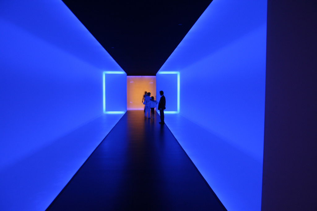 James Turrell,  The Light Inside,  1999. Image by  Flickr user Eric Schipul .