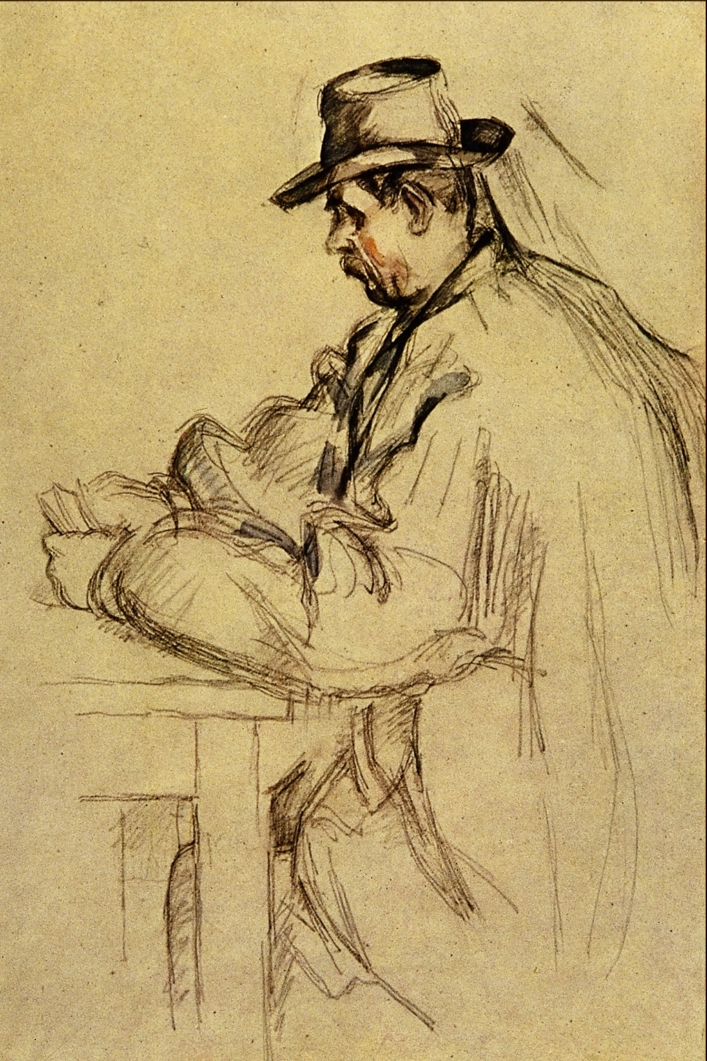 Paul Cézanne,  Study for Card Players , n.d. Image courtesy of Wikimedia.