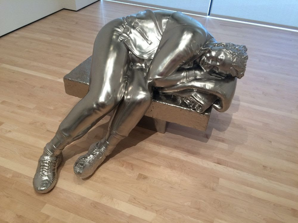 Charles Ray,  Sleeping Woman , 2012. Image courtesy of  Flickr user rocor .