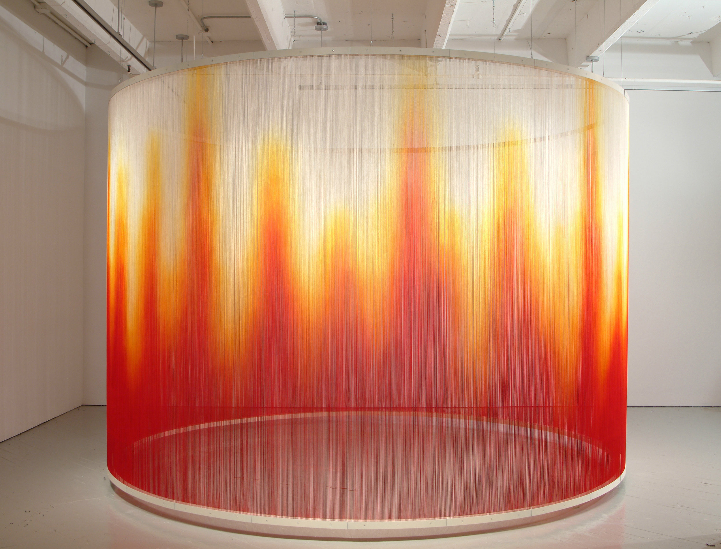 Teresita Fernandez,  Fire , 2005. Courtesy of Wikimedia Commons.