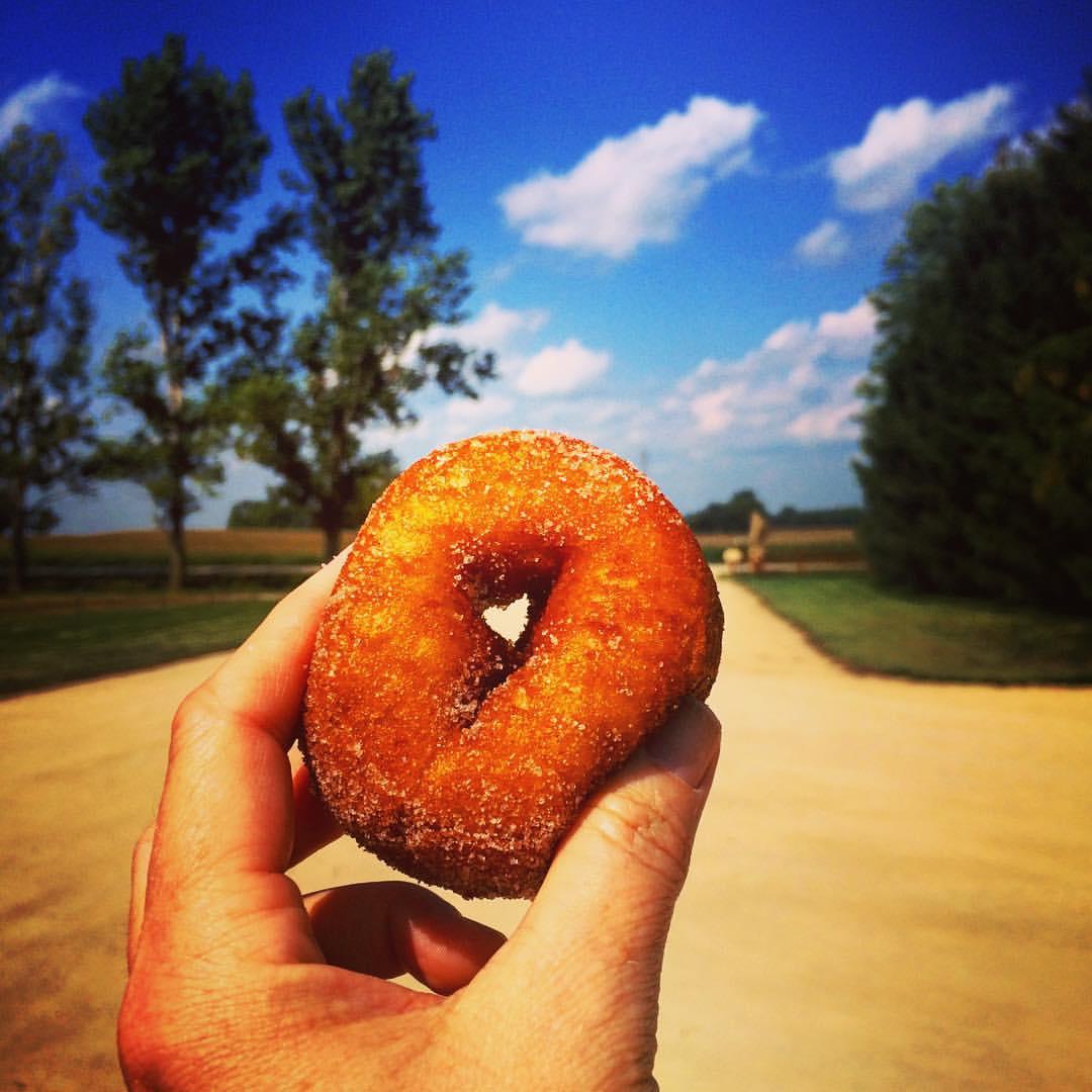 I <3 apple cider donuts