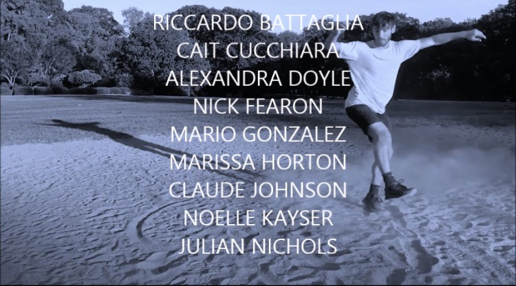 From the BACKtrackDANCE promo. The nine NYC/Chicago based soloist that will be featured from November 1 to December 27.