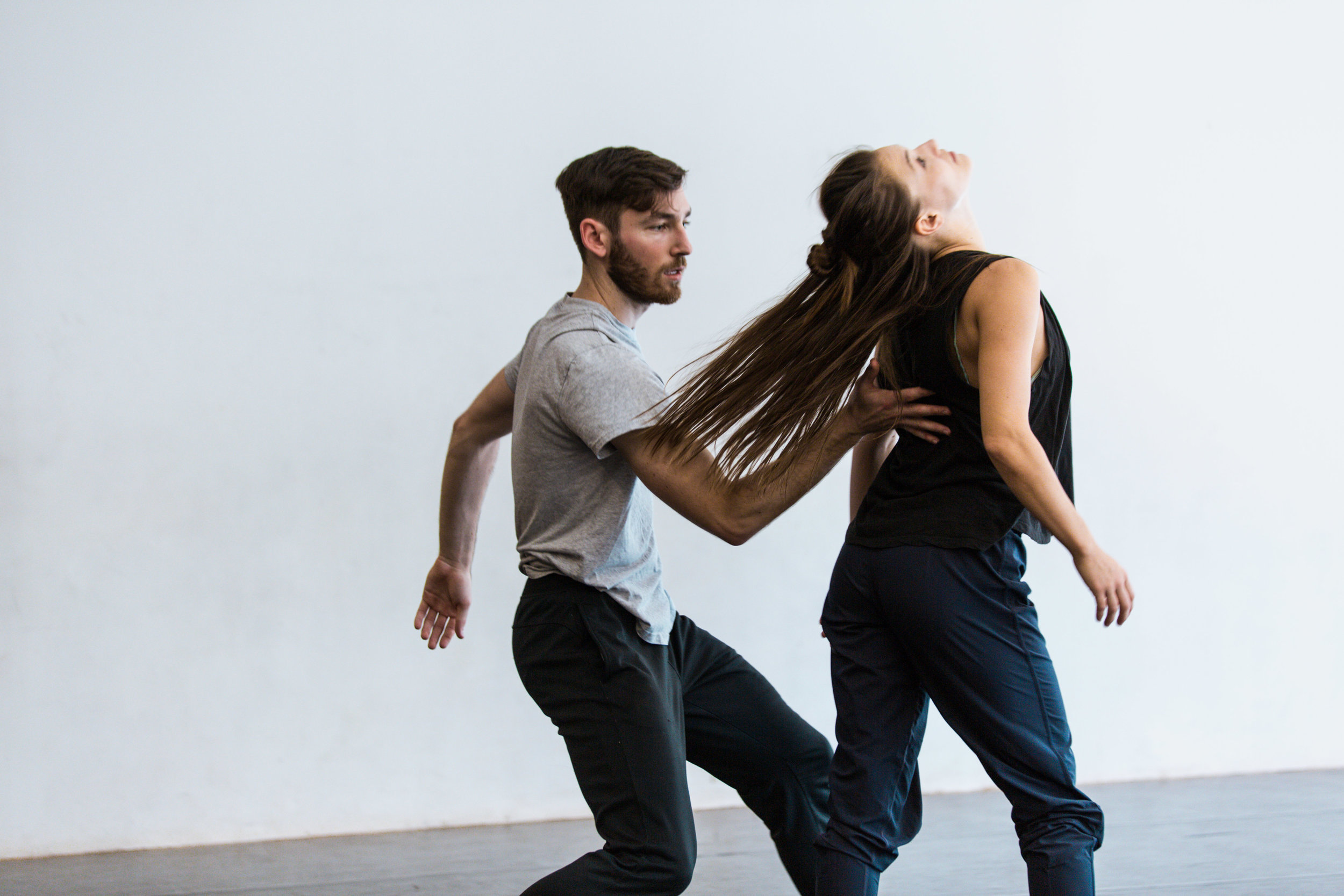 Keigwin + Company rehearsal shot by  Cole Witter