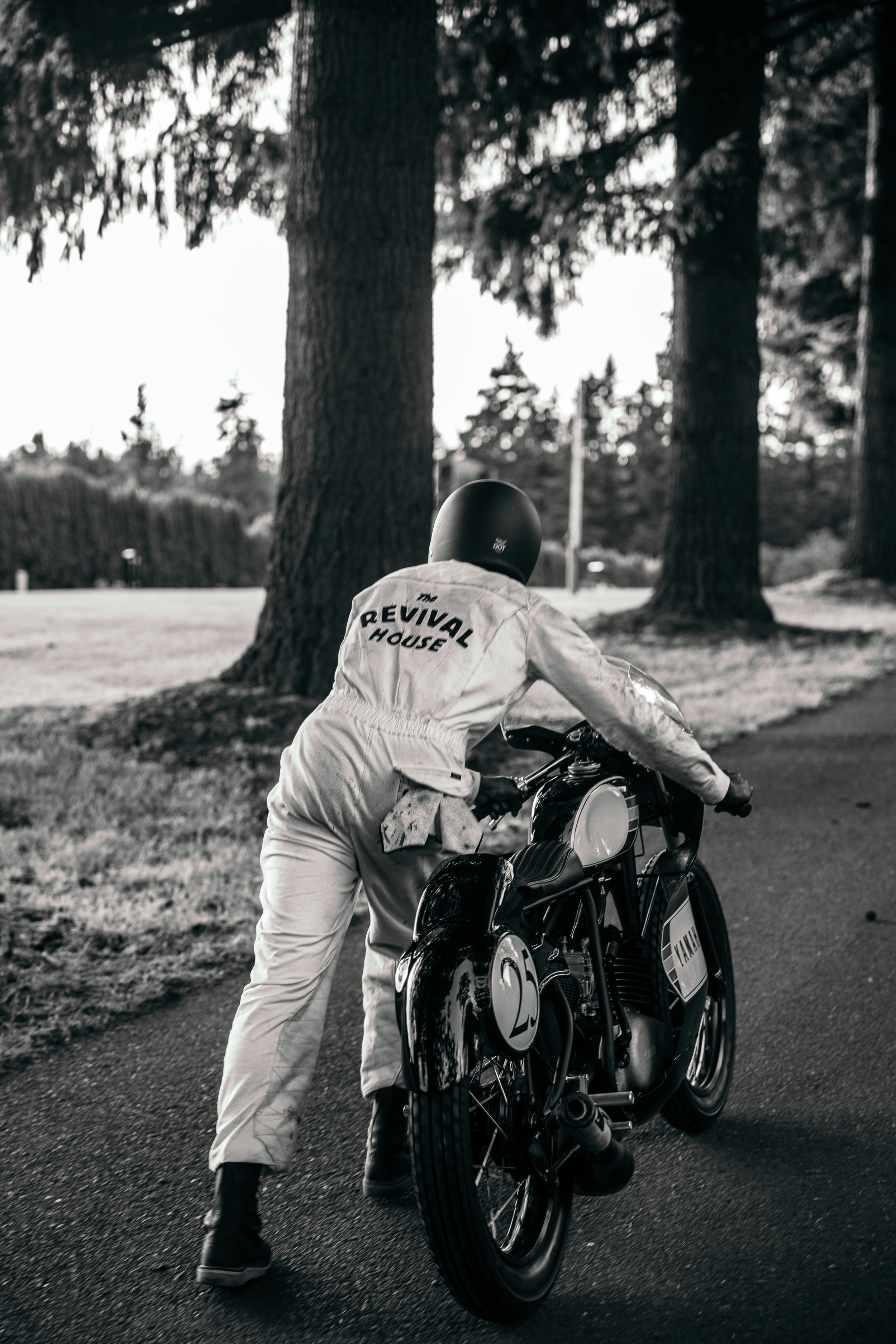Coming Soon....                                                                                                    Suit:  (Crawford Denim and Vintage)   In the meantime check out  Return of the Cafe Racers