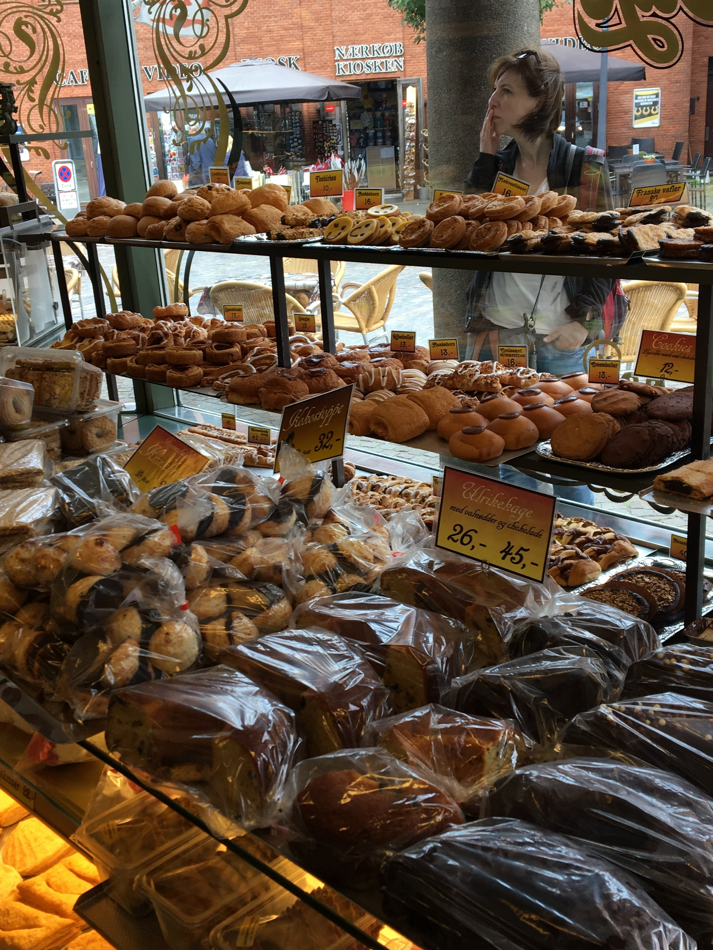 European bakeries put US ones to shame.. Every town had several, all were reasonably priced, and had tons of items I hadn't even seen before.