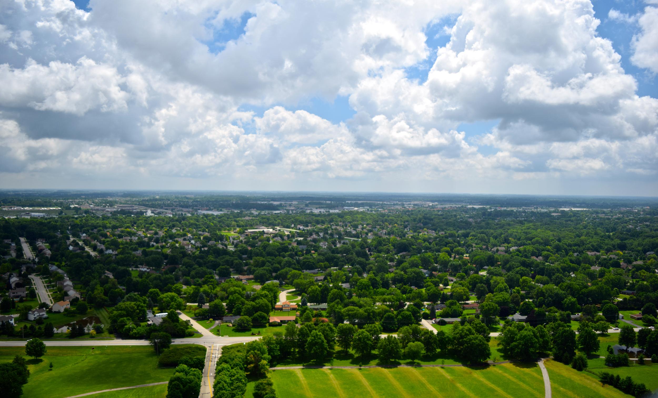 Airborne Landscape