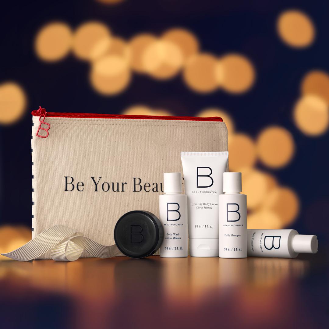 Beautycounter Jet Set Gift Set - (travel set)
