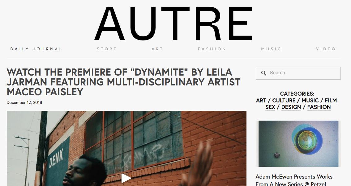AUTRE Magazine