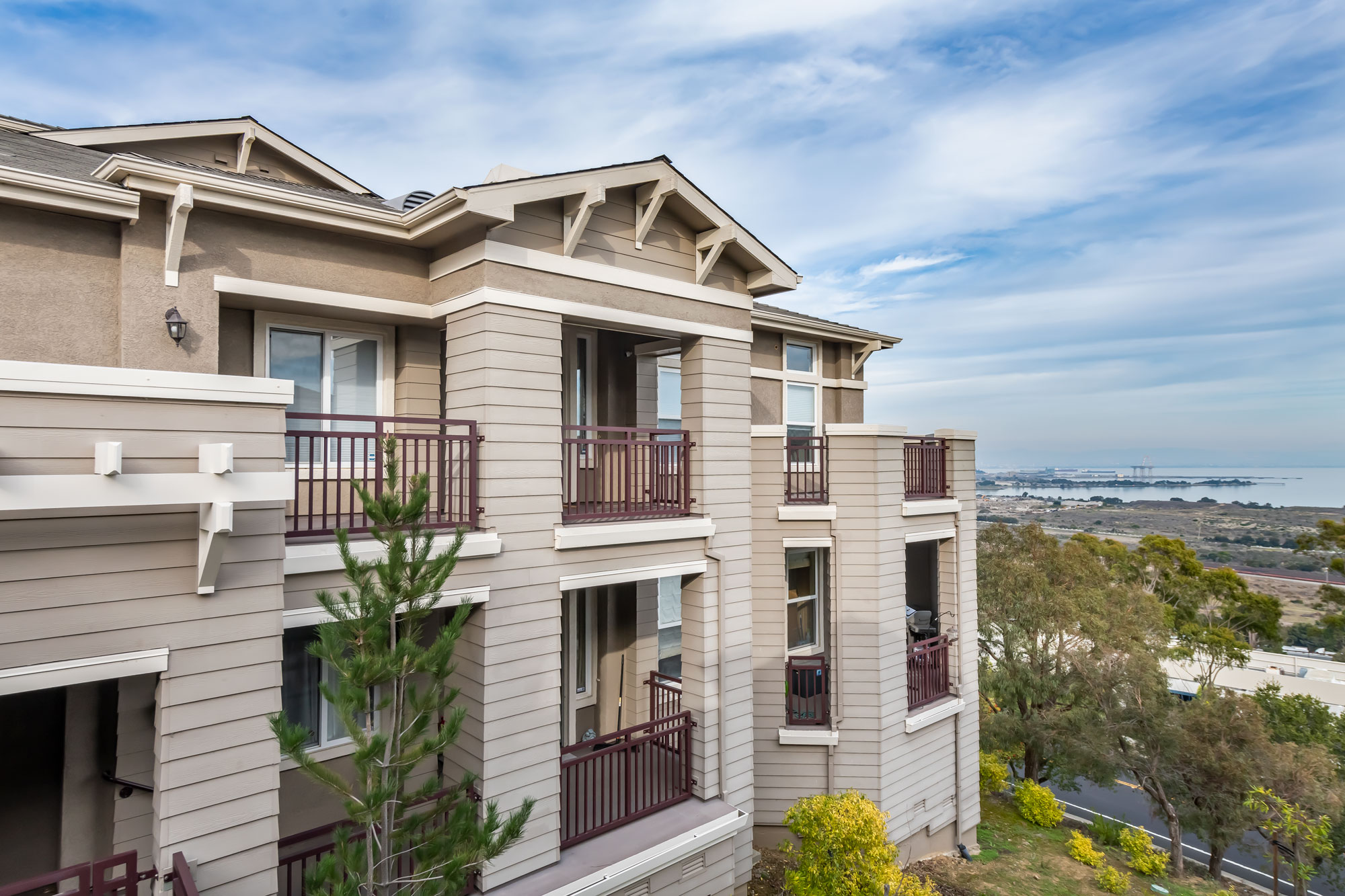 135 Golden Eagle Lane, Brisbane, CA  EXPANSIVE VIEWS FROM THIS VIEW POINT AT THE RIDGE CONDOMINIUM