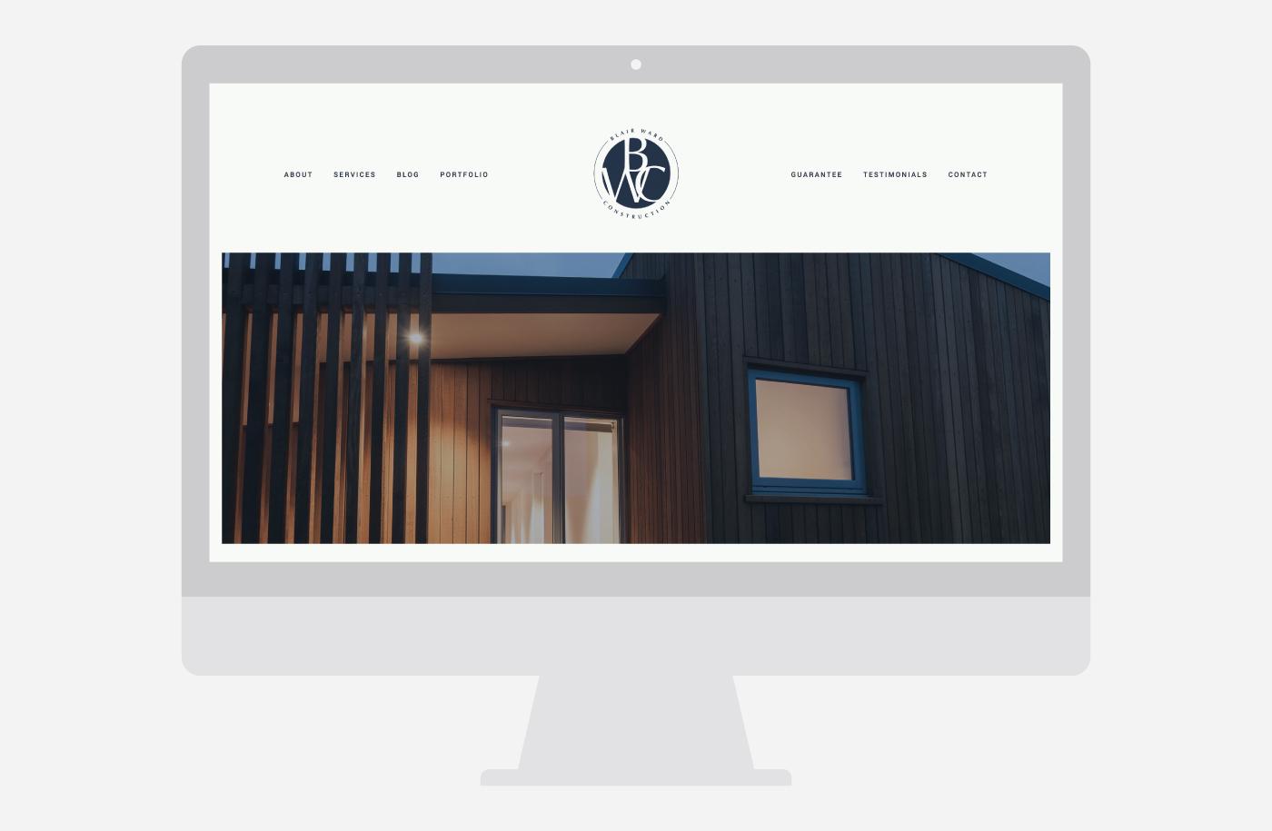 Blair Ward Construction I Creative Agency In Christchurch New Zealand I Twentyseven