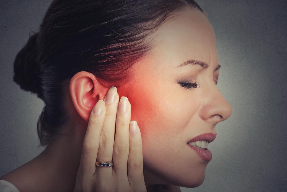 Sluggish lymph may cause acute or chronic ear pain.