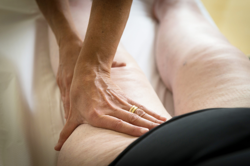 Lymphatic Drainage of legs and feet