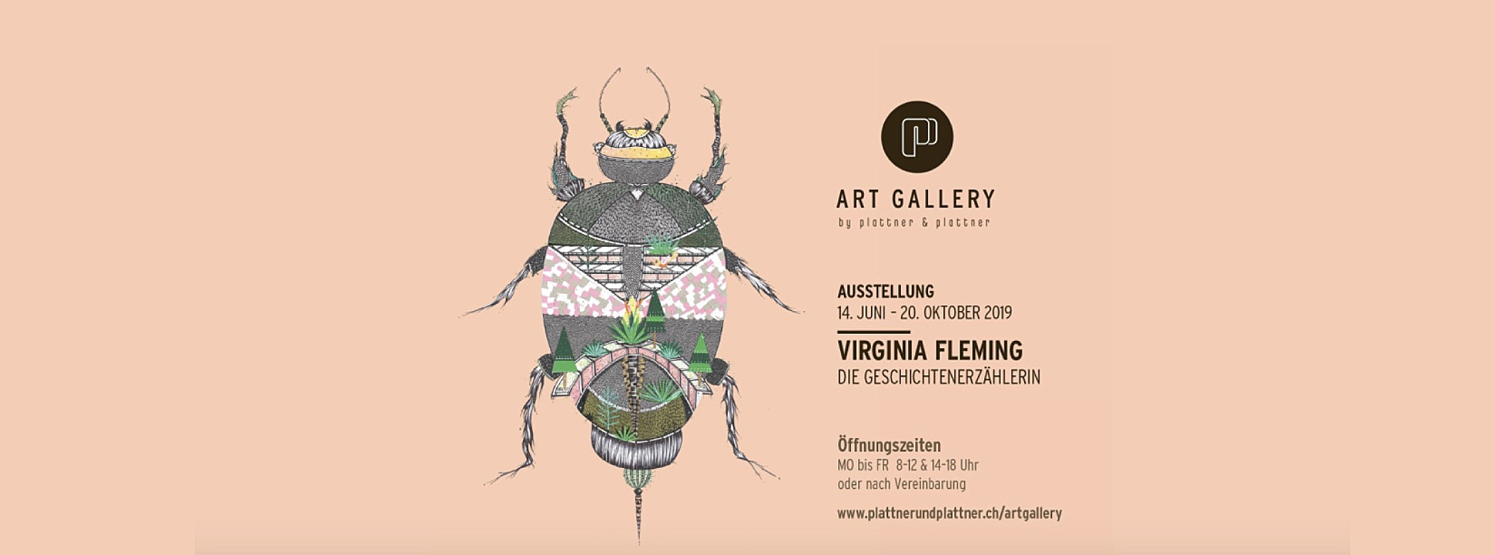 Summer Show - Virginia Fleming is holding her first Solo Art Exhibition at the Plattner & Plattner Art Gallery based in Pontresina. Step inside a colourful, magical world and set your imagination free!