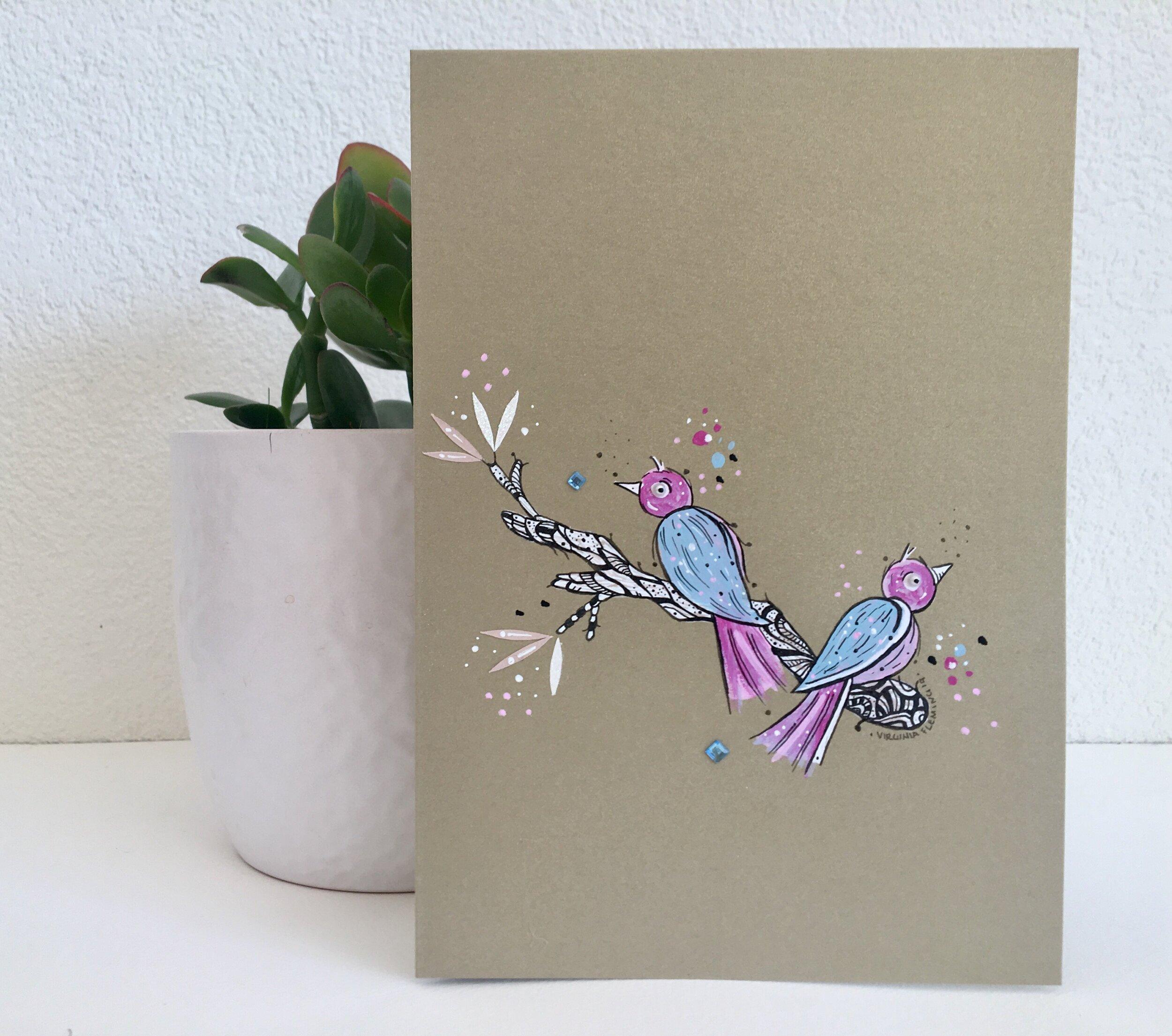 CARDS - Original Artwork on a greeting Cards