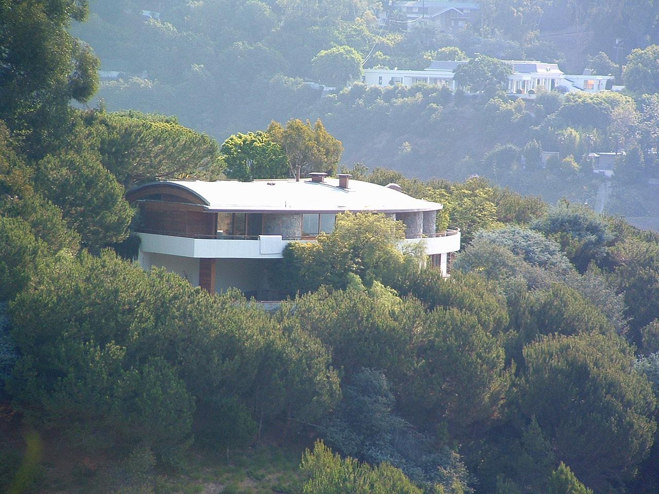 Schwimmer Residence designed by Architect John Lautner