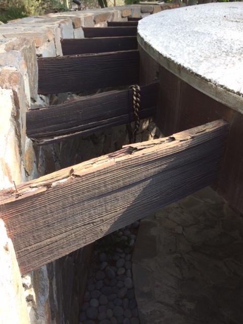 Damaged entry trellis