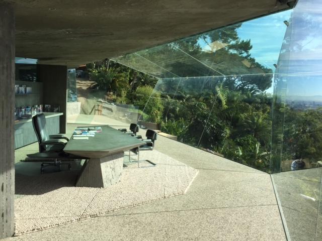 James Goldstein Office Glass
