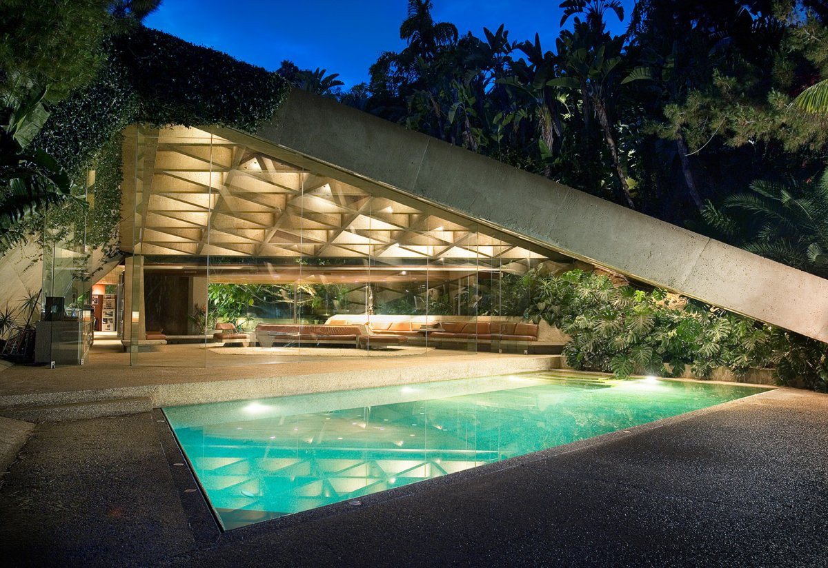 The Sheats Goldstein residence's architect: John Lautner  LACMA