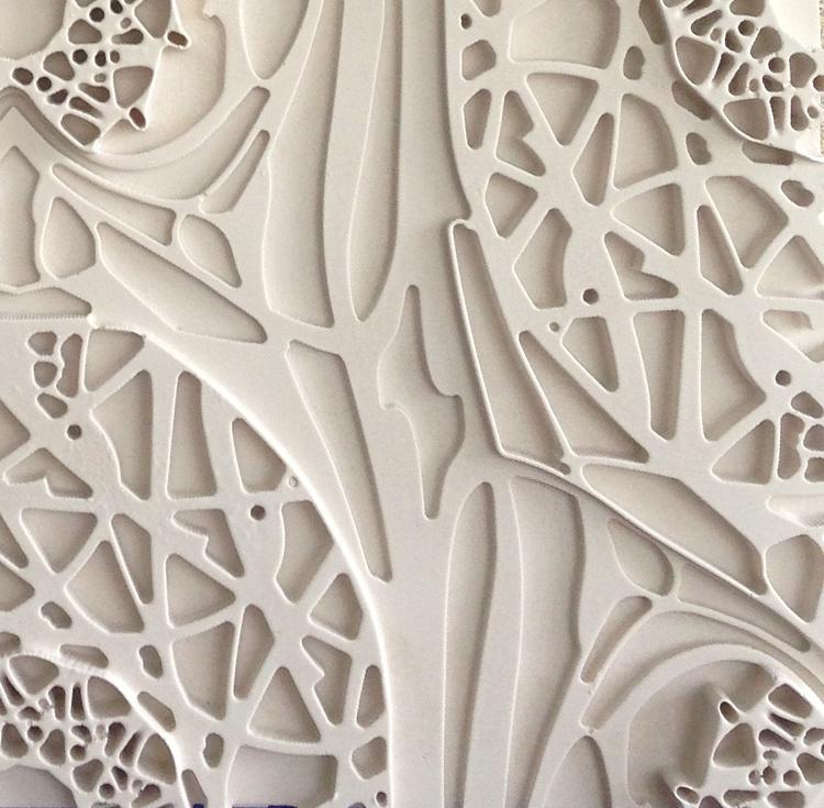 Custom Plaster Tile