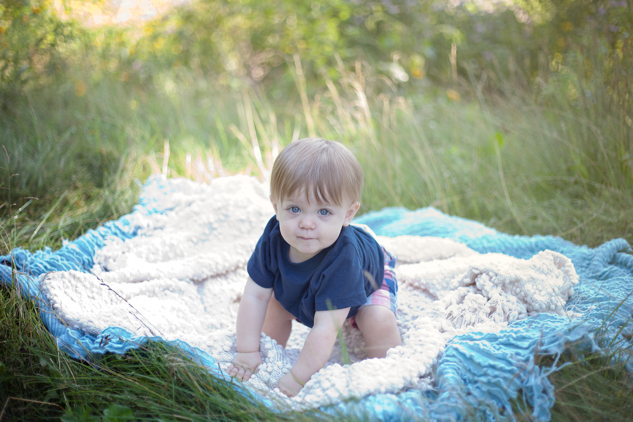 Worthington Photographer, one year old photography session