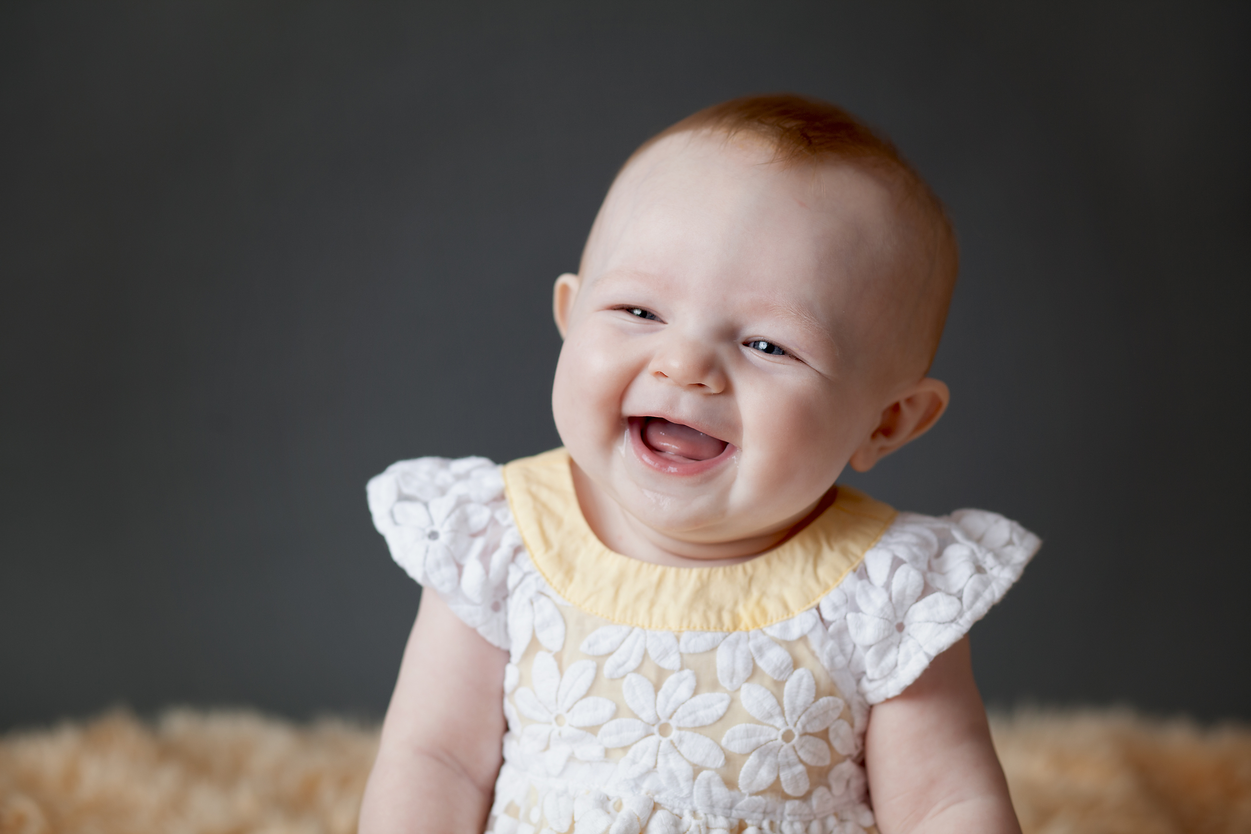 Worthington Photographer, six month child studio session