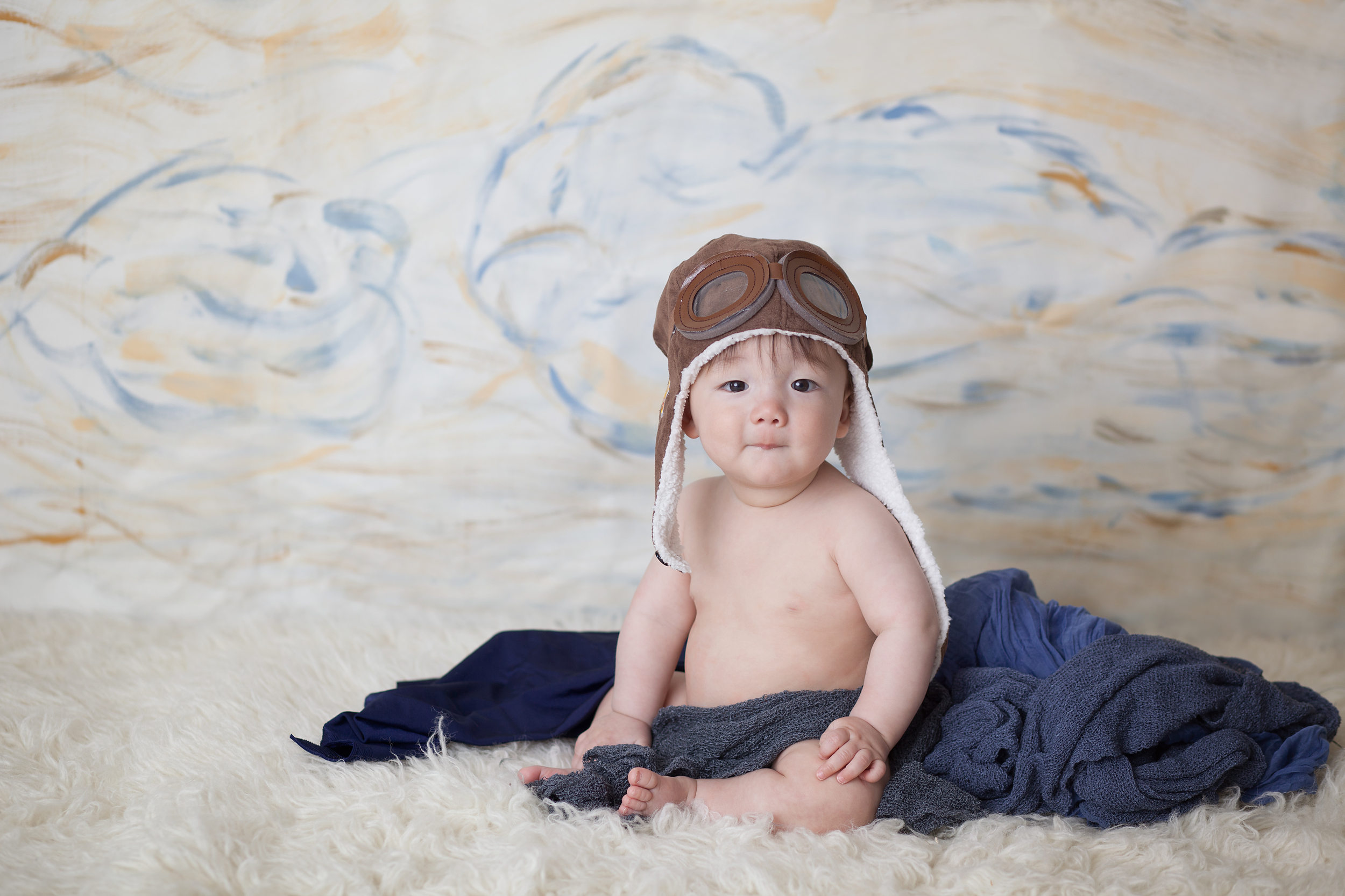 Worthington Photographer, six month studio photography session