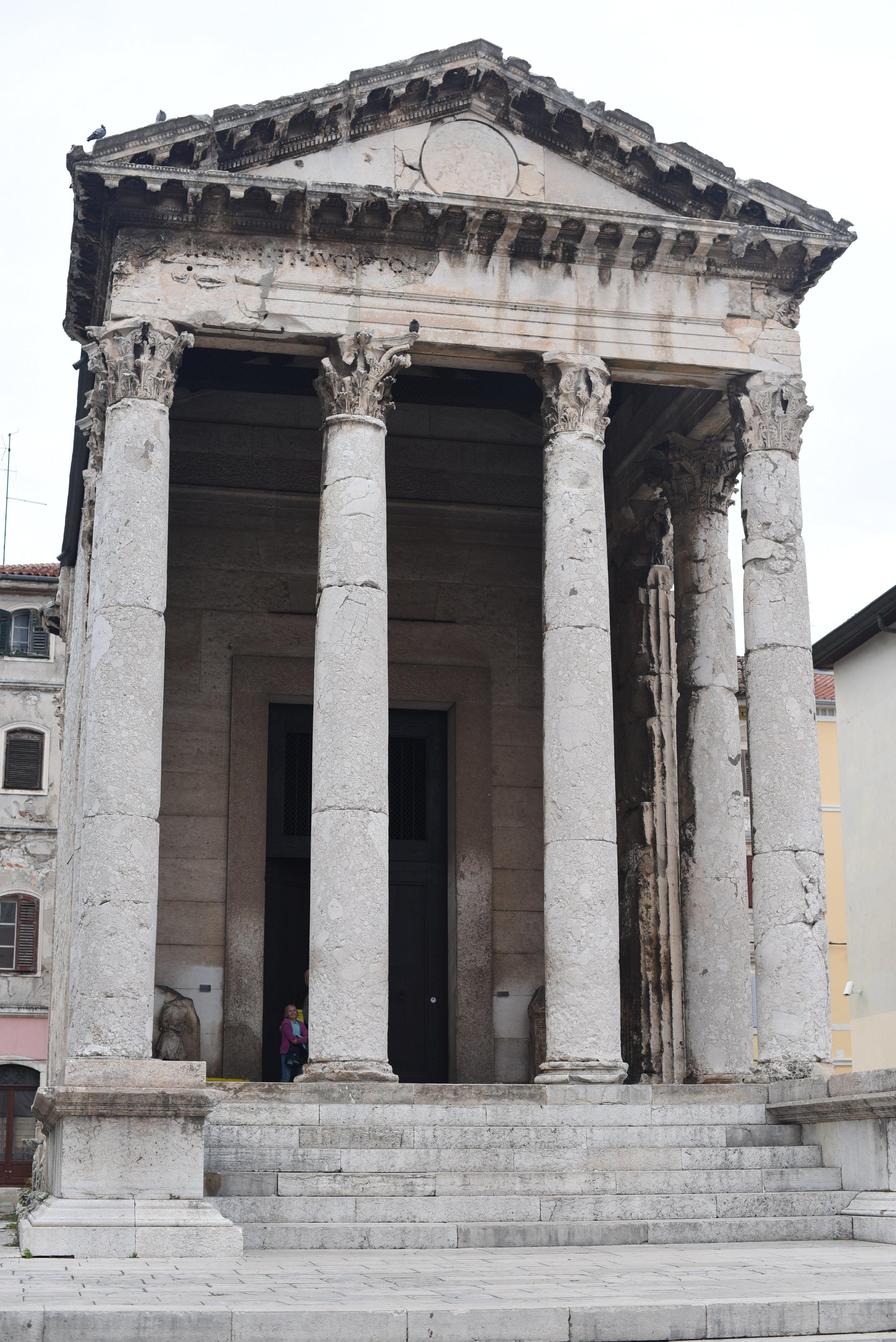 Temple of St. Augustus, Pula.